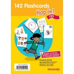 HOP IN CE1 FLASCARDS (LOT)