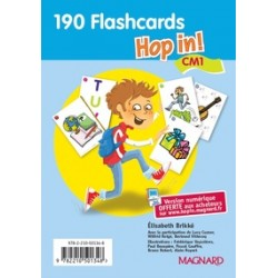 HOP IN CM1 FLASCARDS (LOT)