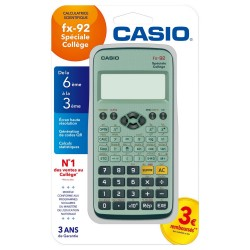 Calculatrice Casio Fx-92...