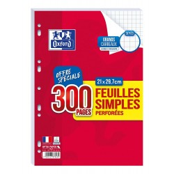 Feuillets mobiles Oxford,...